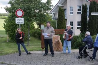 Albert Schmelz, Gerlinde Kielburger, Ortsvorsteher