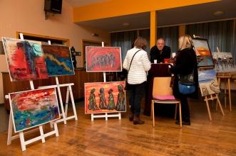 Ausstellung im Saal Knap (Foto R. Schultheiß)