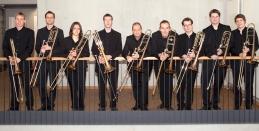 2017: Posaunenensemble Musikhochschule Mainz www.musik.uni-mainz.de Foto: Posaunenensemble Musikhochschule Mainz