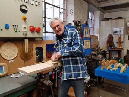 Holzkunst H.G. Schmidt Fragnon Foto: Mirjam Funke