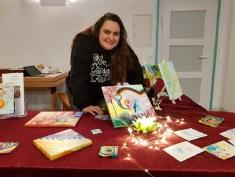 Sonja Garcia Burgos im Gemeindesaal Foto: Mirjam Funke