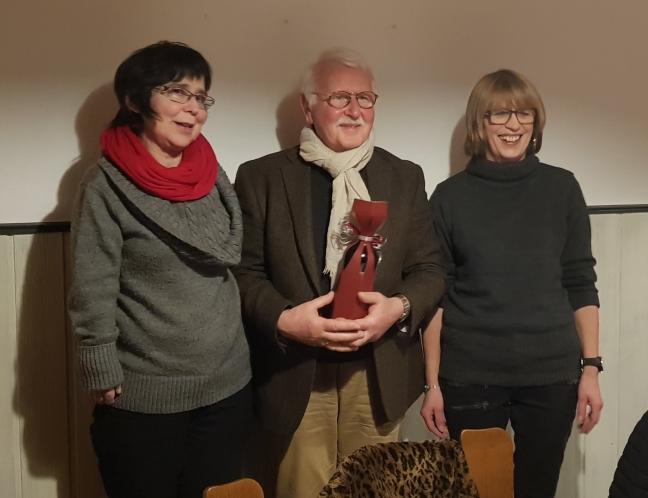 Heinz-Gert Funke erhielt Ehrenmitgliedschaft Kulturverein Landenhausen e.V.