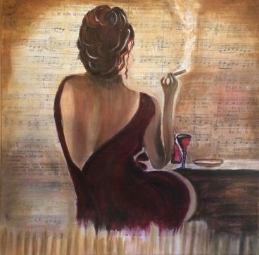 Anneliese Felske - Ich arbeite mit unterschiedlichen Techniken, Öl auf Leinwand, Aquarell und auch Spachteltechnik. Neue Wege gehen, spielen mit Farbe, Licht und Schatten. Harmonie in Farbe.