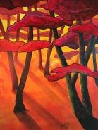 Friedrirch Hahn - Die Natur mit all Ihren Facetten im ständigen Wandel des Lichtes. Beim Malen versuche ich einen Bruchteil dessen was ich sehe einzufangen.