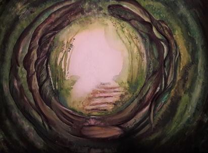 Melanie Schad - Mein Name ist Melanie Schad, 40 Jahre alt und lebe mit meiner Familie in Wartenberg/Angersbach. Erst letztes Jahr habe ich meine Leidenschaft für die Malerei nach 20 Jahren wiederentdeckt. Als Malmittel verwende ich bevorzugt Aquarellfarbe und Pastellkreide, probiere aber gerne auch anderes aus. Meine (Vor)Liebe zu Engeln, hat mich dazu gebracht, Engelbilder zu malen. Farben und ihre Wirkung sind ein wunderbares Werkzeug, deshalb wähle ich sie intuitiv in meinen Energiebildern. Ich freue mich sehr, die Bilder bei dieser Ausstellung mit anderen teilen zu können.